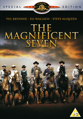 The Magnificent Seven DVD (2001) Yul Brynner