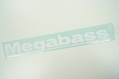 Megabass CUTTING STICKER 30cm #WHITE