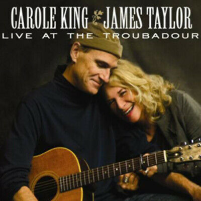 Carole King/James Taylor : Live at the Troubadour CD Album with DVD 2 discs