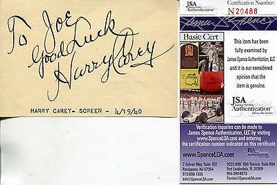 Cards & Papers Movies Maurice Chevalier Silent Movie Actor Signed Card Autograph Jsa Authenticated