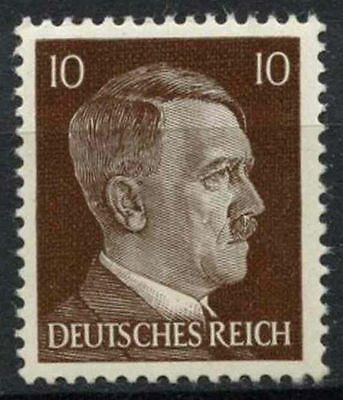 Germany Third Reich 1941-42 SG#775 10pf Brown Adolf Hitler Typo MNH #D5833
