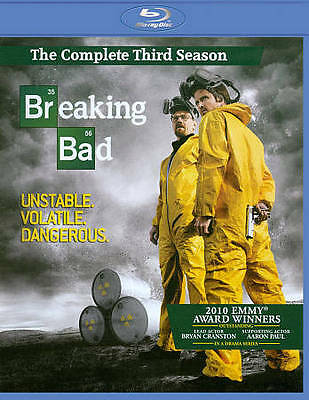 Breaking Bad: The Complete Third Season New Region B Blu-Ray