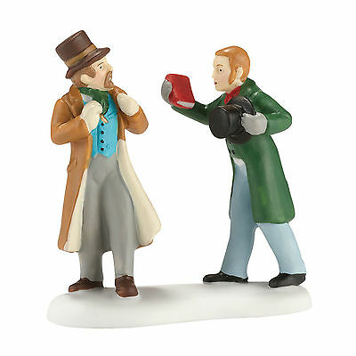 Dept 56 Dickens THANK YOU MR DICKENS Accessory NIB NEW! 4030366