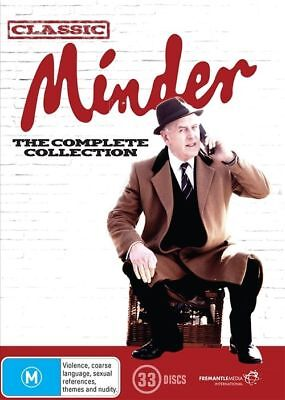 Minder Complete Season 1, 2, 3, 4, 5, 6, 7, 8, 9 & 10 DVD Box Set R4 New Sealed