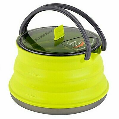 Sea to Summit X Pot 1.3L Kettle Collapsible Compact Camping Hiking Cooking Gear