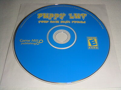 Puppy Luv Your New Best Friend - PC CD Computer game Disc Only