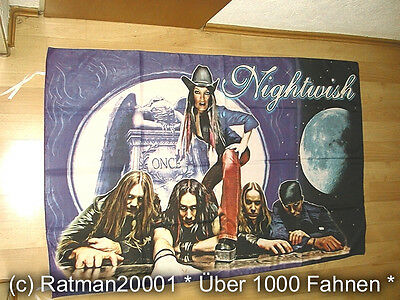 Fahnen Flagge Nightwish BT 175 - 135 x 95  cm