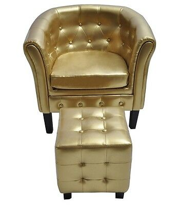 Edle Chesterfield Edler Sessel Lounge Couch Wohnzimmer mit ...