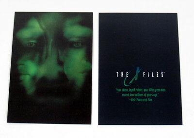 The X-Files Fight the Future Video Card (Unnumbered) Well-Manicured Man Nm/Mt