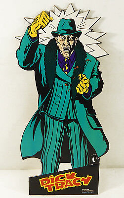 """1990 Disney Dick Tracy """"Big Boy Caprice"""" 16"""" Cardboard Standee By Starmakers"""