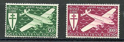 Stamp / Timbres Colonies Francaises Neuf Guyane Pa N° 26/27 **