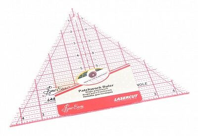 Sew Easy Patchwork Quilting Ruler 60 Degree Triangle - each (NL4174)