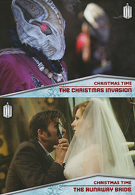 Topps 2015 Doctor Who - Christmas Time Chase Trading Card Set