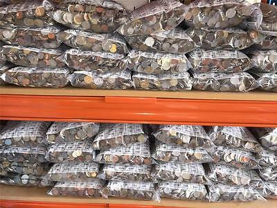 10kg Bag of  World Coins - Free Shipping in Australia!