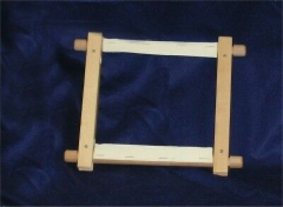 Elbesee Rotating Sew On Tapestry Embroidery Cross Stitch Frame (2HSewOnFrame-M)
