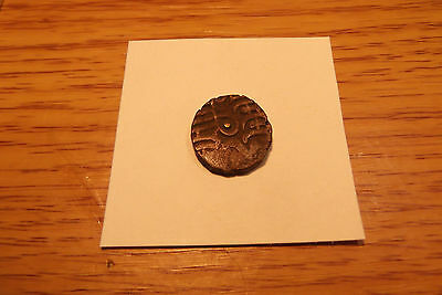"850 - 900 India ""bull And Horseman"" Samantadeva, Copper / Silver Coin"