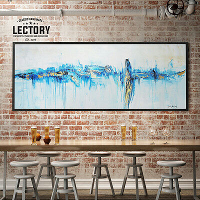 Hand-Painted Oil Painting - Trace | Modern Abstract Decor Unframed Wall Art