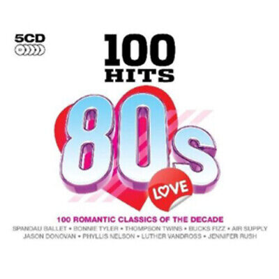 Various Artists : 100 Hits: 80s Love CD (2009)