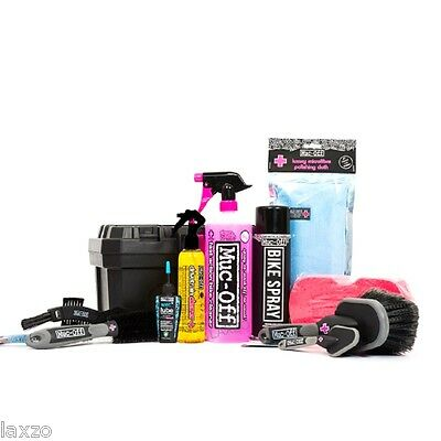 Muc-Off Ultimate Bicycle Kit Lubricant Degreaser Brushes Bike Cycle Maintenance