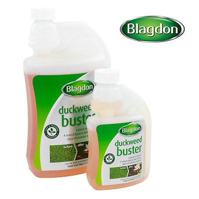 Duckweed Buster Blagdon Garden Fish Pond Natural Water Treatment Remover Control