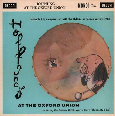 "Hoffnung(10"" Vinyl)At The Oxford Union-Decca-LF 1330-UK-1958--Ex/VG+"
