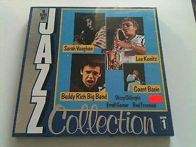 Jazz Collection Volume 1 - 10 LP Box NEW OVP - dg(Lee Konitz,Buddy Rich Big Band