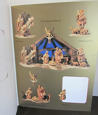 Fontanini Heirloom Nativities & Angels 90+ Full Color Stickers Labels by Roman