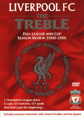 Liverpool FC: The Treble - League and Cup Season Review 2000/2001 DVD (2001)