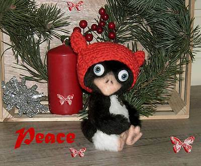 Artist Bear ... little peace, the penguin ... 18cm Unique ... a sweet penguin k!