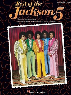Best Of The Jackson 5 Sheet Music Piano Song Book