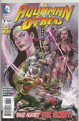 Aquaman And The Others # 7 * New 52 * Near Mint