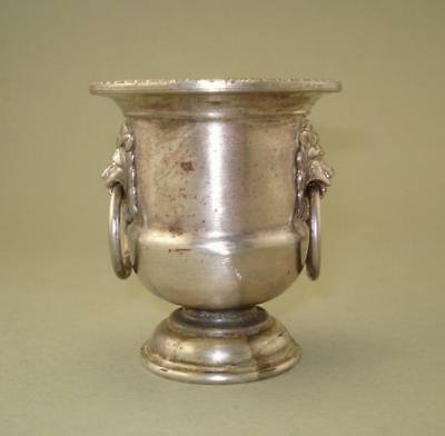 """1900s Antique Collectible Piece Silver Plated WMF Small Vase 3"""""""