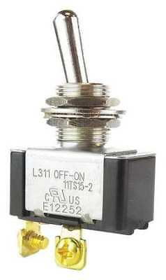 HONEYWELL 11TS15-2 Toggle Switch, SPST, 2 Conn., Off/On