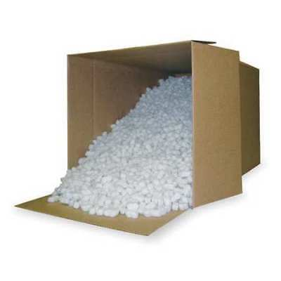 Packing Peanuts,7.5 cu. Ft,Poly ZORO SELECT 4TU93