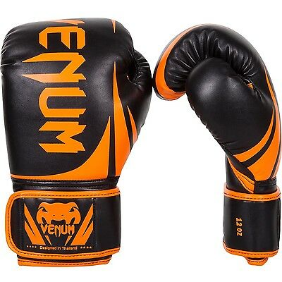 "Venum Boxhandschuhe ""Challenger 2.0"" Neo orange/black, 2049. 10oz-16oz."