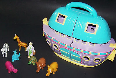 Veggie Tales Noah's Ark Playset with Noah and Animal Figures -