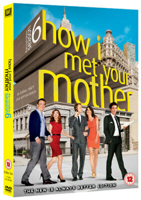 How I Met Your Mother: The Complete Sixth Season DVD (2011) Josh Radnor cert 12