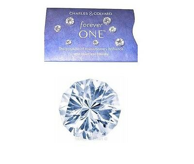 Forever One™  New Whitest Moissanite Round Loose Jewels By Charles & Colvard