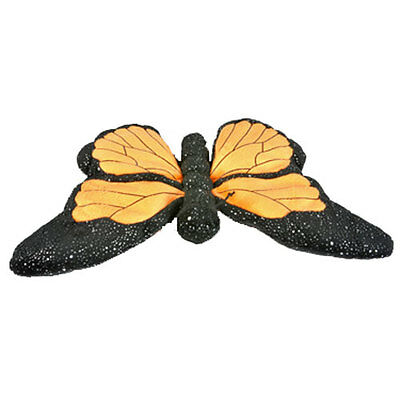 Adventure Planet Plush - SPARKLE MONARCH BUTTERFLY ( 12  inch ) -New Stuffed Toy