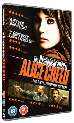 The Disappearance of Alice Creed DVD (2010) Gemma Arterton