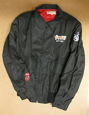 The ROLLING STONES Dirty Work 1986 US Promo Only JACKET Minty! Size MEDIUM