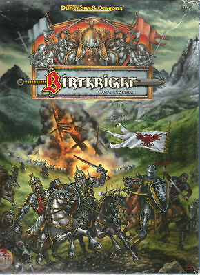 Tsr Ad&d Birthright Campaign Books & Boxed Sets Multilisting Adventures Vgc ~New