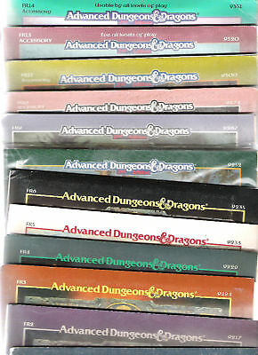 Tsr Ad&d Forgotten Realms Adventures Fr Fa Frq Frs Frm Dungeons & Dragons