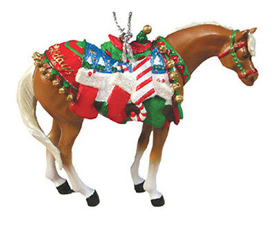 Trail of Painted Ponies HAPPY HOLIDAYS CHRISTMAS ORNAMENT Retired, New in Box!