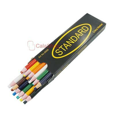 Mixed Peel off Grease Pencil for wood Glass Metal Cloth Wax Grease China Marker