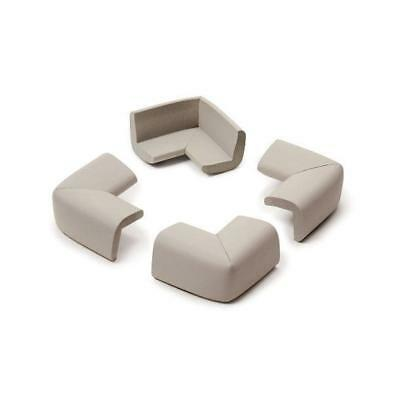 Prince Lionheart Corner Guard Cushions for Baby-proofing (Neutral) Pack of 4