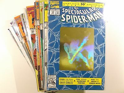 AUSWAHL : THE SPECTACULAR SPIDER-MAN # 189 - 224 ( US Marvel Comics )