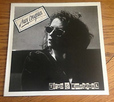Mary Coughlan Tired & Emotional 1987 LP WEA Recs