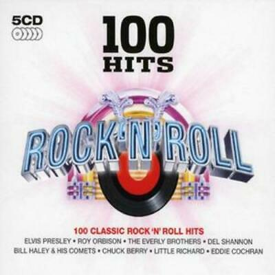 Various Artists : 100 Hits - Rock N' Roll CD 5 discs (2008) Fast and FREE P & P