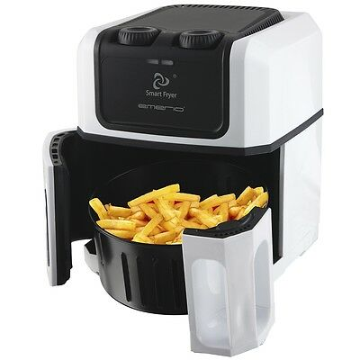 # Emerio Smart Fritteuse Friteuse Fritöse cool touch 1500 W Weiß